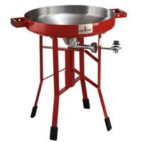 COOKER PTBL DP SHORT RED 24IN