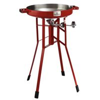 COOKER PTBL DEEP TALL RED 36IN