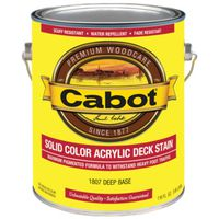 Cabot 1800 Solid Color Decking Stain