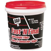 Dap 23050 Fast N' Final Spackling Compound