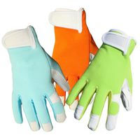 GLOVES LADIES GOATSKIN WHITE