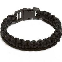 PARACORD BRACELET BLACK L