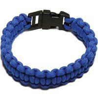 PARACORD BRACELET BLUE L