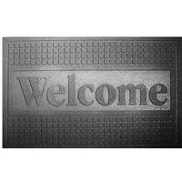 MAT DOOR RECYC RUB BLK 18X30IN