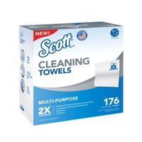 TOWEL CLEANING PAPER WHT 176CT