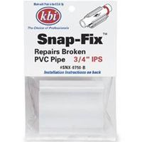 KBI SNX Snap-Fix Pipe Repair Coupling