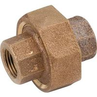Anderson Metal 738104-04 Brass Pipe Union