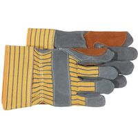 GLOVE DOUBLE LEATHER PALM LRG