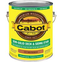 Cabot 1417 Oil Based Semi-Solid Deck and Siding Stain