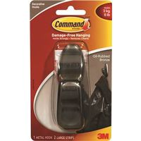 Command FC13-ORB Large Decorative Hook