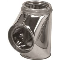 Selkirk 207100 Insulated Chimney Tee with Tee Cap