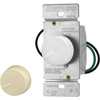 SWITCH DIMMER RTRY WHT/IVRY