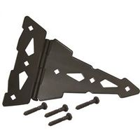 T-HINGE 8IN 12GA STEEL BLACK