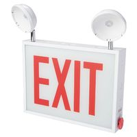 SIGN EXIT LED 3.6W 2HEAD