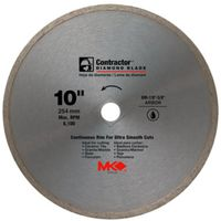 MK Diamond Contractor Circular Saw Blade