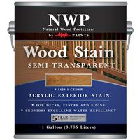 STAIN WD ACRY SEMI-TRNS CDR 1G