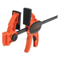 CLAMP BAR LIGHT DUTY ORNG 6IN