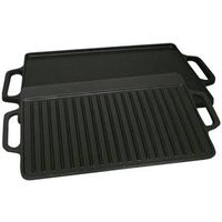 GRIDDLE CAST IRON 9X21IN