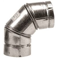 Pellet Pipe 243230 Type L Vent Stove Pipe Elbow