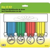 Hy-Ko KC143-4 Easy Open Key ID Tag Kit