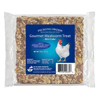 CAKE MEALWORM F/CHICKENS 8OZ