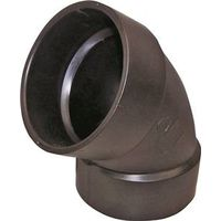 Genova Products 80930 ABS-DWV 60 Degree Elbow