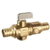 dahl 521-PX5-PX5D-BAG In-Line Quarter Turn Straight Valve