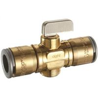 dahl mini-ball In-Line Large Bore Quarter Turn Straight Valve