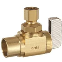 Mini-Ball 621-13-30-BAG Quarter Turn Angle Stop Valve