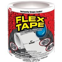 TAPE FLEX WHITE 4IN X 5FT