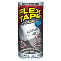 TAPE FLEX WTRPRF CLEAR 8INX5FT