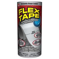 TAPE FLEX WTRPRF GREY 8INX5FT