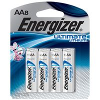 BATTERIES ULTMAT LITHM 2AA 8PK