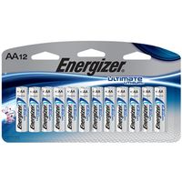 BATTERIES 2AA 12PACK