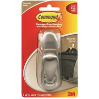 Command Forever Classic FC13-BN Large Decorative Hook