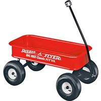 Radio Flyer 1800 Classic Toy Wagon 36 in L x 17-1/2 in W x 6 in D
