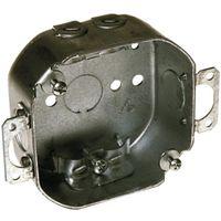 BOX OCT 4IN 1-1/2DP NM CLAMP