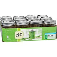 Ball 66000 Wide Mouth Mason Canning Jar