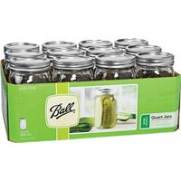 Ball 67000 Wide Mouth Mason Canning Jar