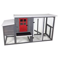 RED DOOR HENHOUSE CHICKEN COOP