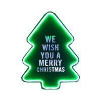 SIGN-WE WISH YOU A XMAS 40IN