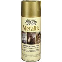 Rustoleum American Accents Topcoat Designer Metallic Spray Paint