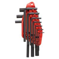 KEY HEX SET 10PC SAE SHORT ARM