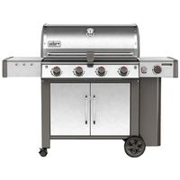 GRILL NG SS 4-BURNER W/SIDE