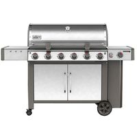 GRILL NG SS 6-BURNER W/SIDE