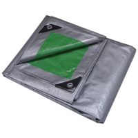 Mintcraft T2040GS140 Poly Tarpaulin with Aluminum Grommets