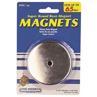 Master Magnetics 07222 Round Heat Resistant Magnetic Base