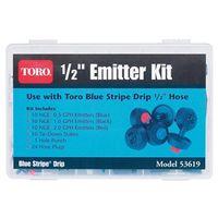 Toro 53619 67-Piece Drip Emitter Kit