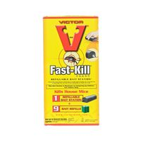 Victor Fast-Kill M917 Non-Anticoagulant Single-Feed Bait Station