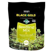 Black Gold 1411002 8 QT P Highly Refined Organic Seedling Mix